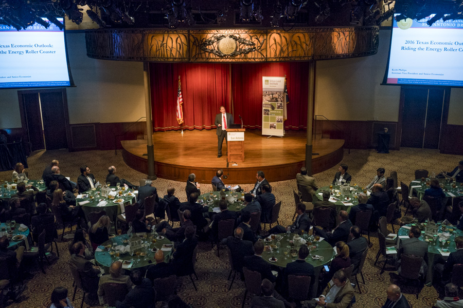 The ULI San Antonio Annual Real Estate Outlook Luncheon looked at real estate trends and forecasts. Photo by Kathryn Boyd-Batstone