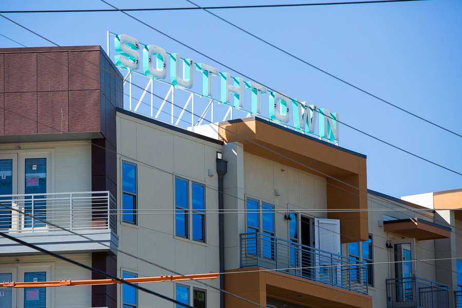 The recently-completed Southtown Flats at 11 Probandt St. is a stone's throw away from the South Flores Arts District and King William Historic District. Photo by Scott Ball.