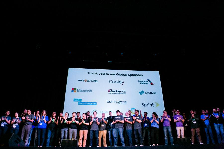 Techstars graduates included 12 different tech companies from around the world. Photo by Kathryn Boyd-Batsotne