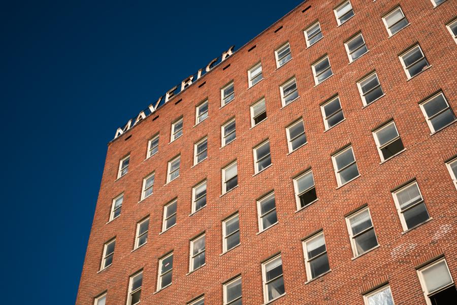 The Maverick Building is located on 606 N. Presa St. Photo by Kathryn Boyd-Batstone