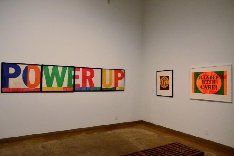 """Corita Kent and the Language of Pop,"" San Antonio Museum of Art. Photo by Page Graham."