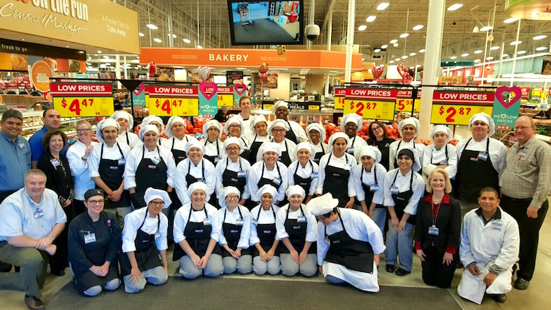 More than 100 Bexar County area high school students shadowed H-E-B employees during Citywide Shadow Day. Courtesy Photo.