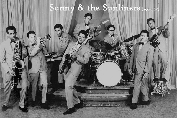 Sunny and the Sunliners at the height of their success. Photo courtesy of Peña Entertainment Group
