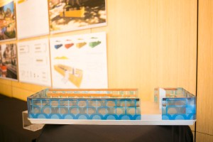 River barge model by Sadi Brewton and Jonathan Davies.