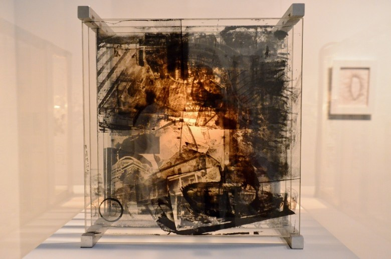 """""""Shades"""" (1964) by Robert Rauschenberg. Photo by Page Graham."""