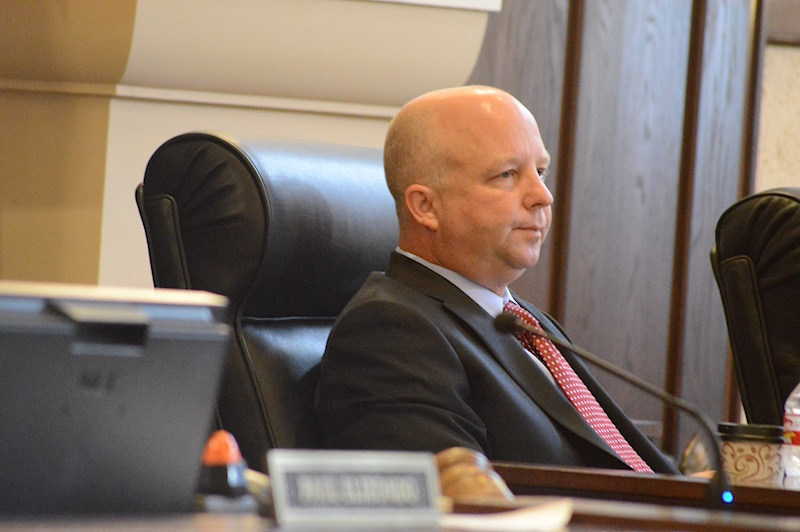 Commissioner Kevin Wolff (Pct. 3) will hold a Wednesday afternoon press conference in the wake of his Sunday morning DWI arrest. Photo by Lea Thompson.