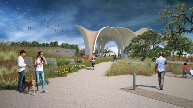 Confluence Park is slated to open to the public on Jan. 17, 2017.