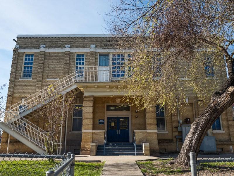 Austin Academy located on 621 West Euclid Avenue. Photo by Scott Ball.