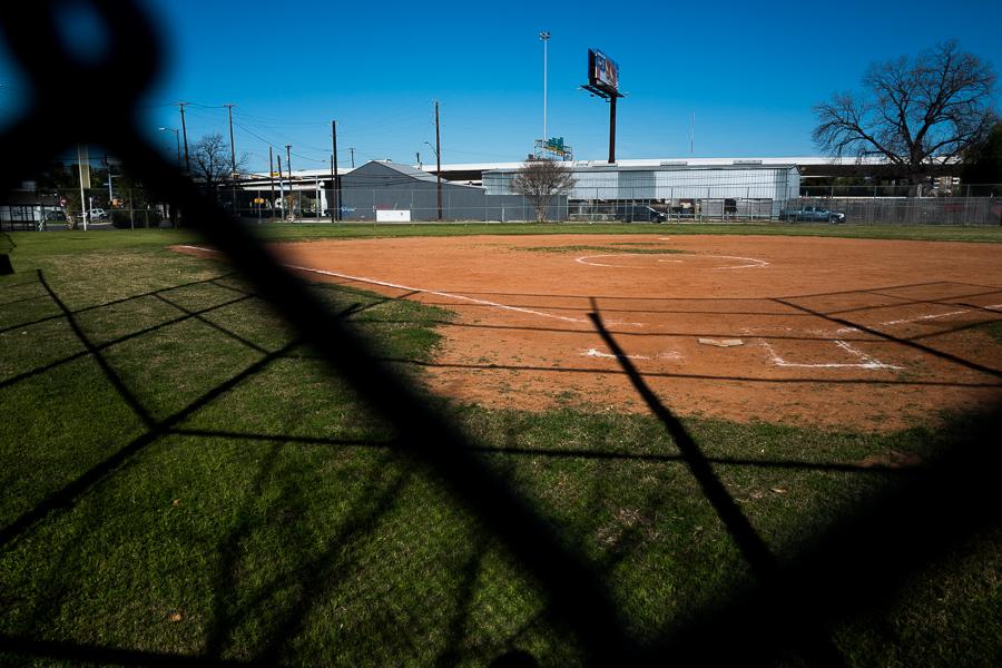 The Fox Tech baseball field. Photo by Scott Ball.