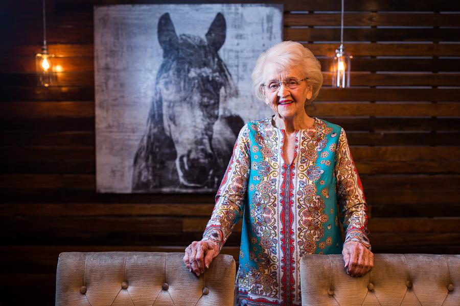 Rosemary Kowalski in the RK Group tasting room. Photo by Scott Ball.