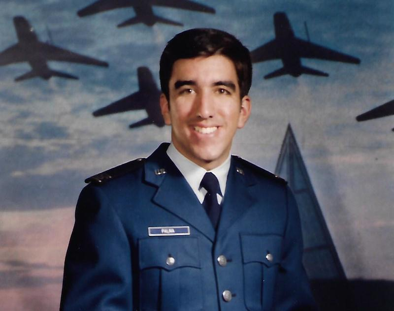 U.S. Air Force Academy portrait of Victor Palma, circa 1982.