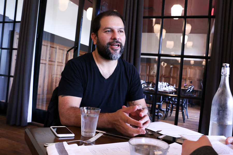 Chef Enrique Olvera talks of his success and challenges in the culinary world. Photo by Bria Woods.