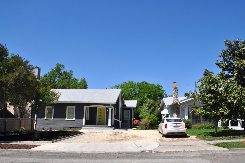 Andrew Guerra renovated the house at 143 Perry Court to become a salon, but has yet to obtain necessary zoning to operate a business out of the home. Photo by Iris Dimmick.