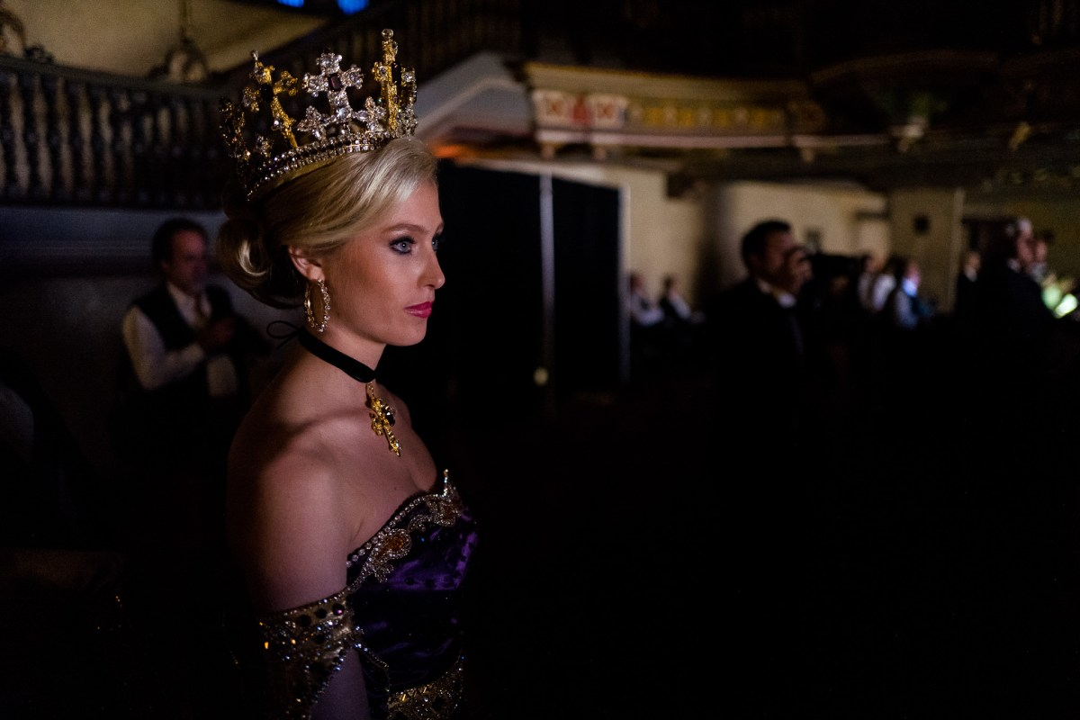 A duchess looks ahead moments before she is called. Photo by Scott Ball.