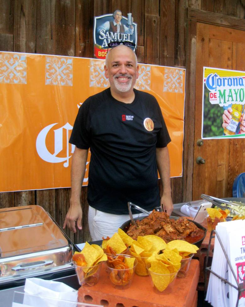 Rene Guerrero, former chef at Tacos and Tequlia, competed in the 2015 Queso Bowl. Photo courtesy of Young Texans Against Cancer.