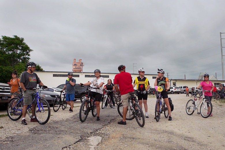 SATX Social Ride brings out around 200-300 people every Tuesday evening. Photo by Kathryn Boyd-Batstone