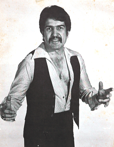 Rudy Tee in the 1970s.  Photo courtesy of Rudy Tee Gonzalez