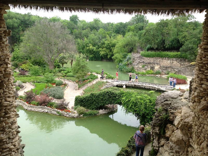 Brackenridge Park's Japanese Garden. Photo courtesy of The Cultural Landscape Foundation.