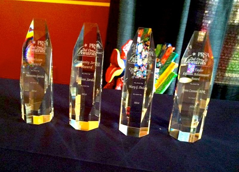 The 2014 El Oro Awards. Photo courtesy of PRSA San Antonio's Facebook page.