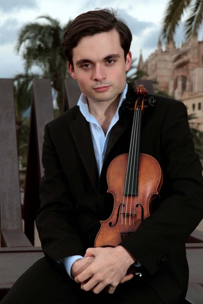 Concertmaster for COSA, Francisco Fullana of Spain. Photo Courtesy of COSA