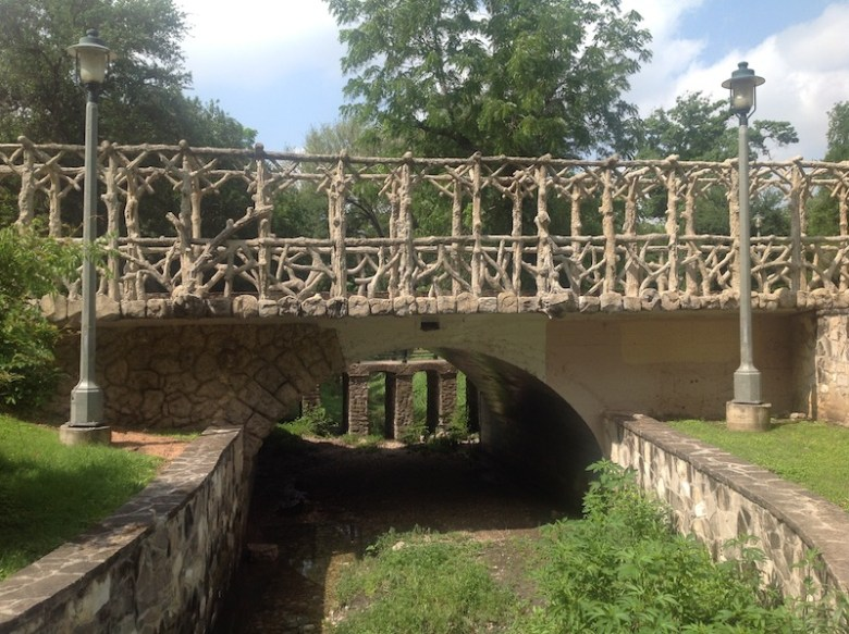 Layers of history at Brackenridge Park. Photo courtesy of The Cultural Landscape Foundation.