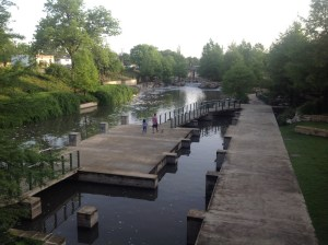 The Museum Reach of the San Antonio River at the Pearl. Photo courtesy of The Cultural Landscape Foundation.