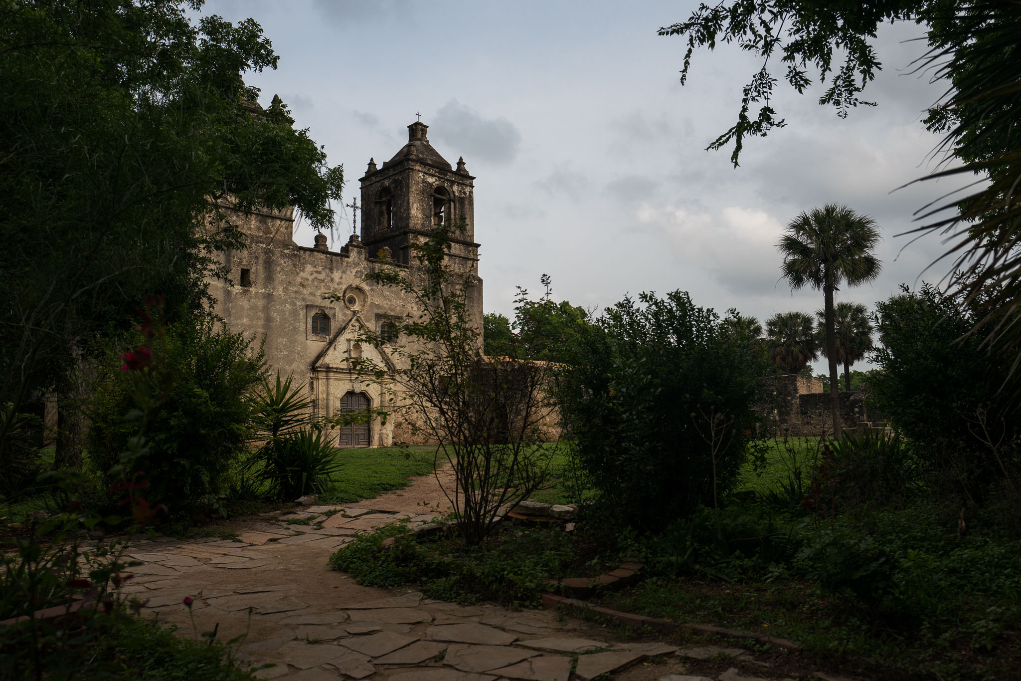 Mission Concepción at sunset. Photo by Scott Ball.