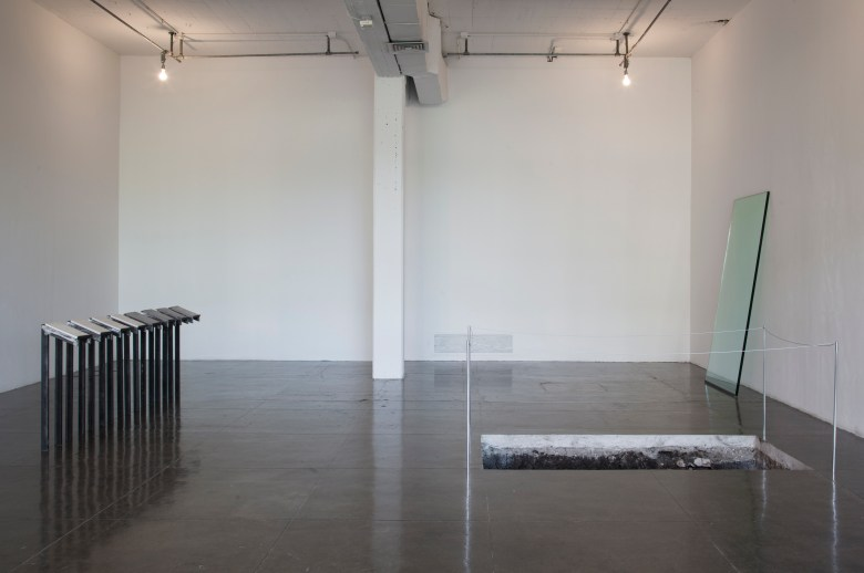 Adriana Carrol's Sous Rature 'Under Erasure'  (2016), installation. Photo by Adam Schreiber.
