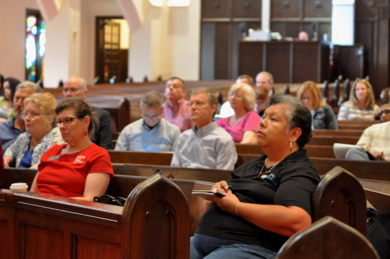 More than 100 representatives from local charities and nonprofits attended Friday's Town Hall. Photo by Lea Thompson