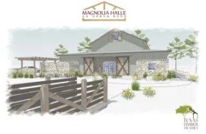 A front view of The Farm. Rendering courtesy of Culinaria.