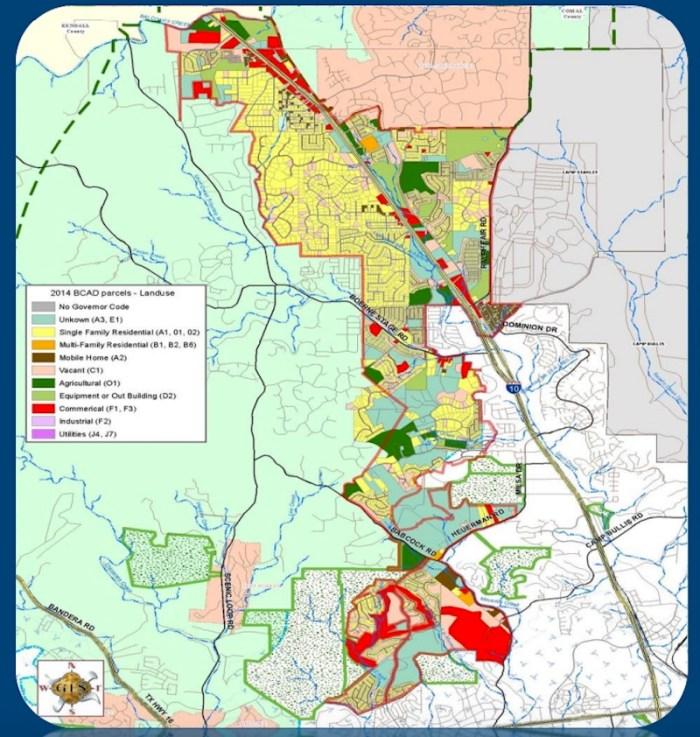 2016 City of San Antonio IH-10 West Proposed Annexation Area. Courtesy of City of San Antonio.