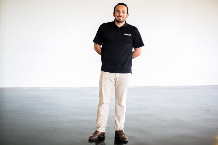 Luis. P. Gonzalez is the CEO of Parlevel Systems and is an immigrant from Mexico. Photo by Kathryn Boyd-Batstone.