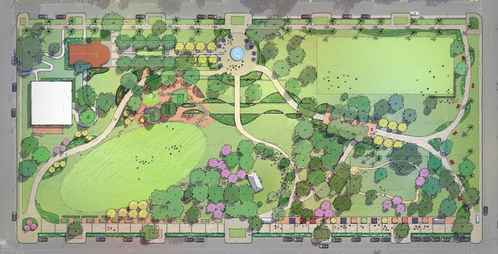 Site plan rendering courtesy of Public Space East.