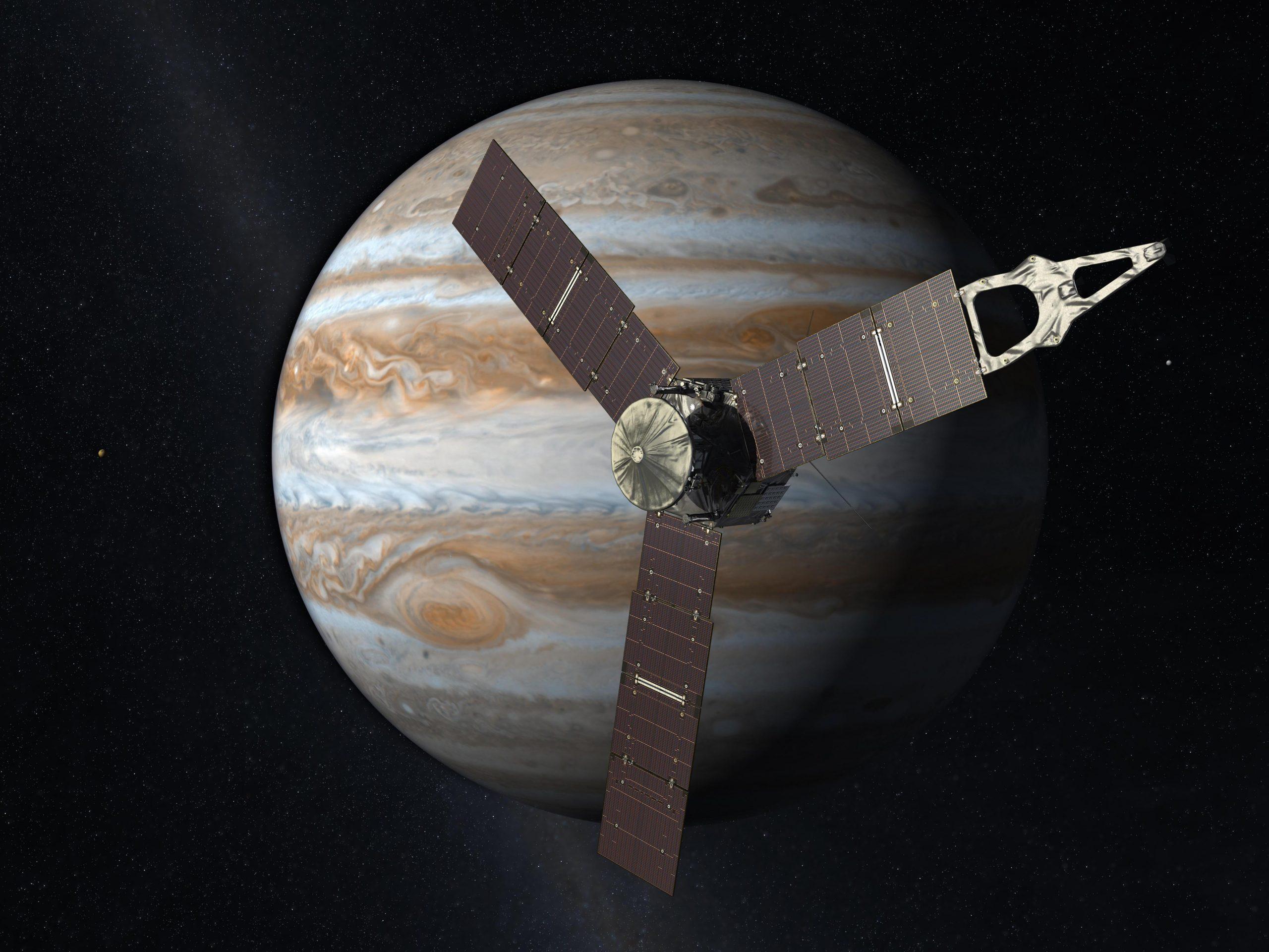 Artistic depiction of Juno. Photo courtesy of NASA.