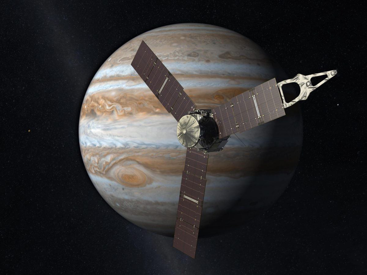 Artistic depiction of Juno. Photo courtesy of NASA.