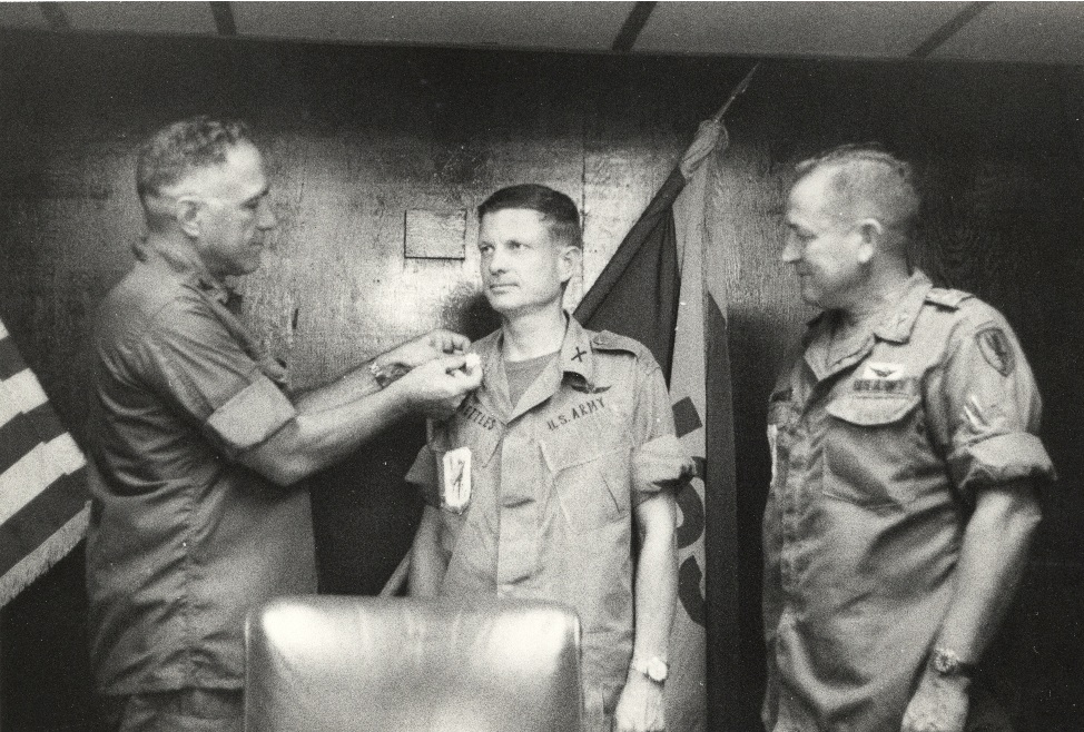 Maj. Charles Kettles earned the Distinguished Service Cross, the military's second-highest honor, for his bravery in the Vietnam War. Photo courtesy of Michigan Guard.
