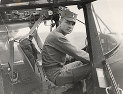 Maj. Charles Kettles rescued eight infantrymen mistakenly left behind after a Viet Cong ambush near Duc Pho during the Vietnam War. Photo courtesy of OLLU.
