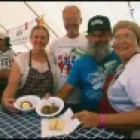 Scottish food is served during a previous festival years ago. Photo courtesy of the Texas Folklife Festival.