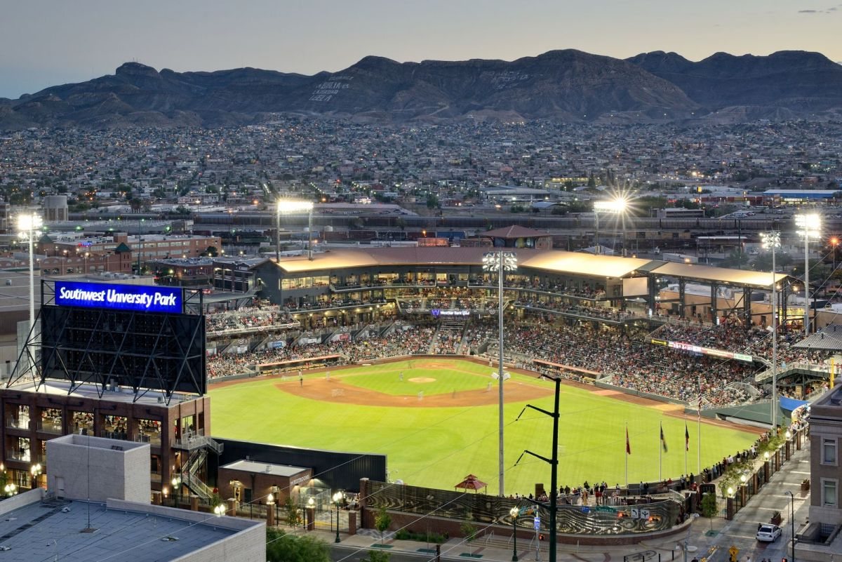 Southwest University Park is home to the El Paso Chihuahuas. Photo courtesy of Southwest University Ballpark.