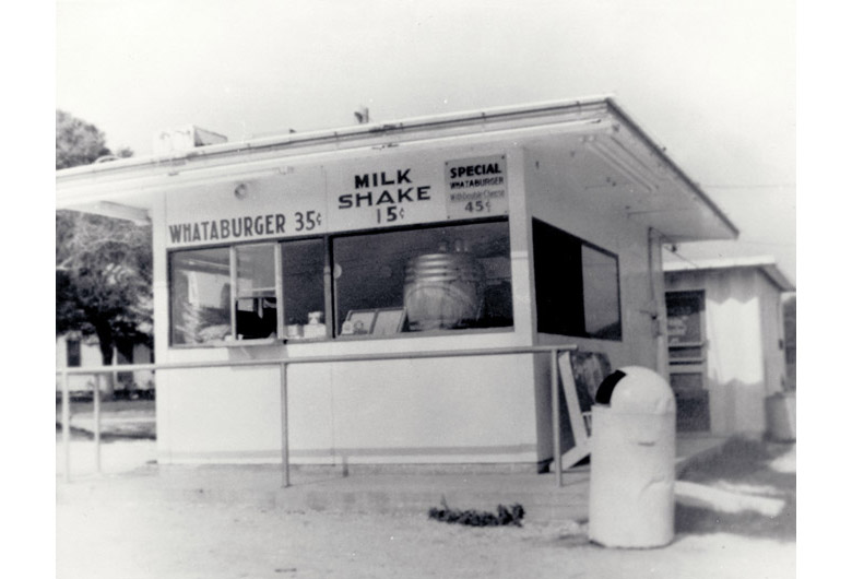 The first Whataburger stand in Corpus Christi, Texas. Courtesy of Whataburger.