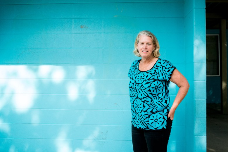 Jill Oettinger has been the CEO of Good Samaritan Community Services for nearly 20 years.  Photo by Kathryn Boyd-Batstone.
