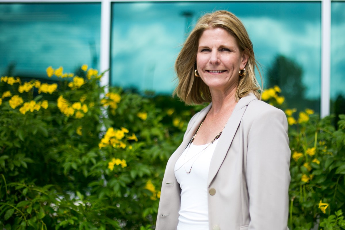 Sarah Baray is the new CEO of PreK 4 SA. Photo by Kathryn Boyd-Batstone.