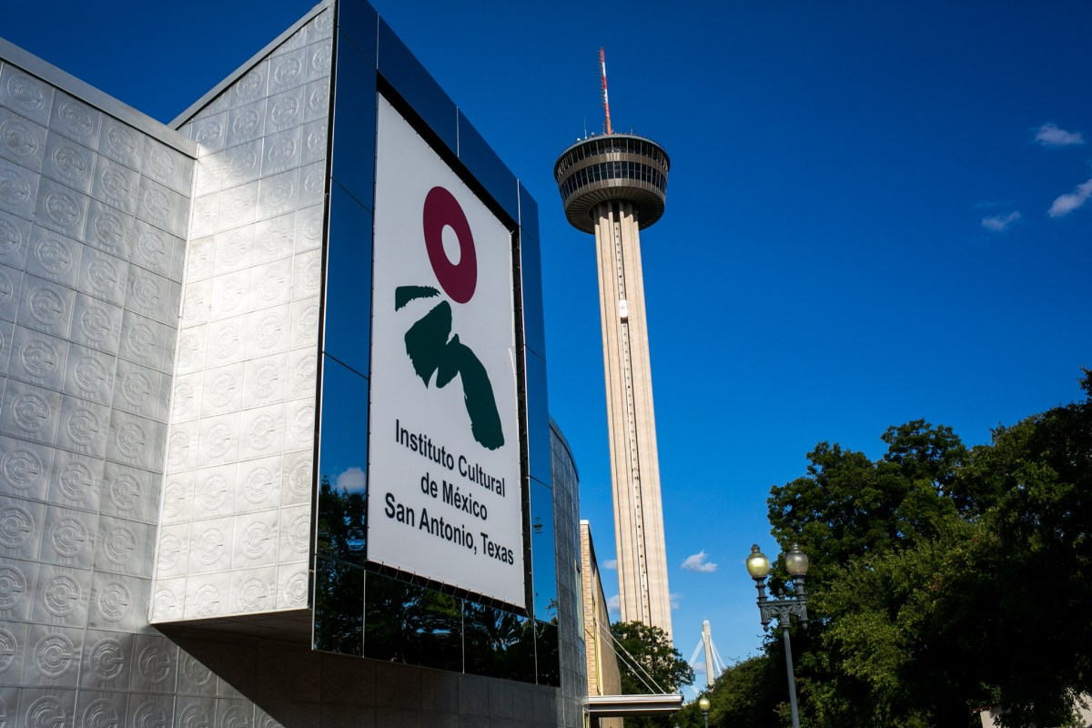 The Instituto Cultural de México is located in Hemisfair Park. Photo by Kathryn Boyd-Batstone.