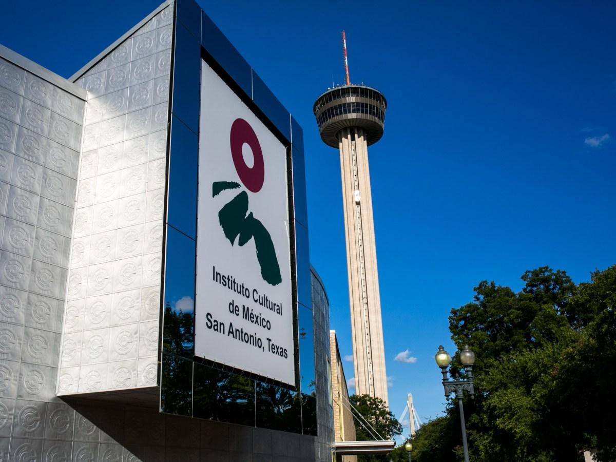 The Instituto Cultural de México is located in Hemisfair Park. Photo by Kathryn Boyd-Batstone.
