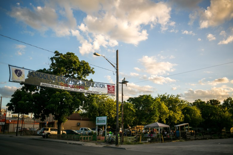 Gardopia is located on the Eastside where crime rates are among the highest in downtown San Antonio. Photo by Kathryn Boyd-Batstone.