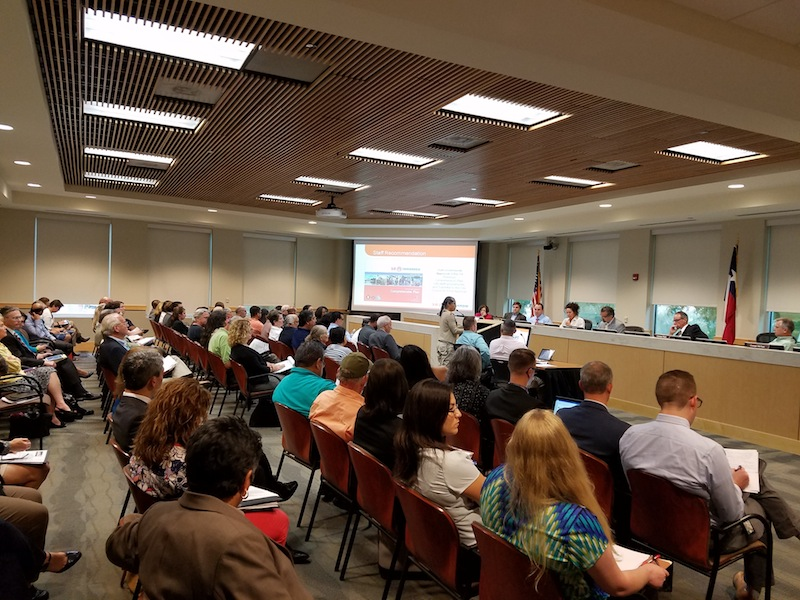 The Planning Commission listens to concerns regarding the SA Tomorrow plan. Photo by Iris Dimmick.