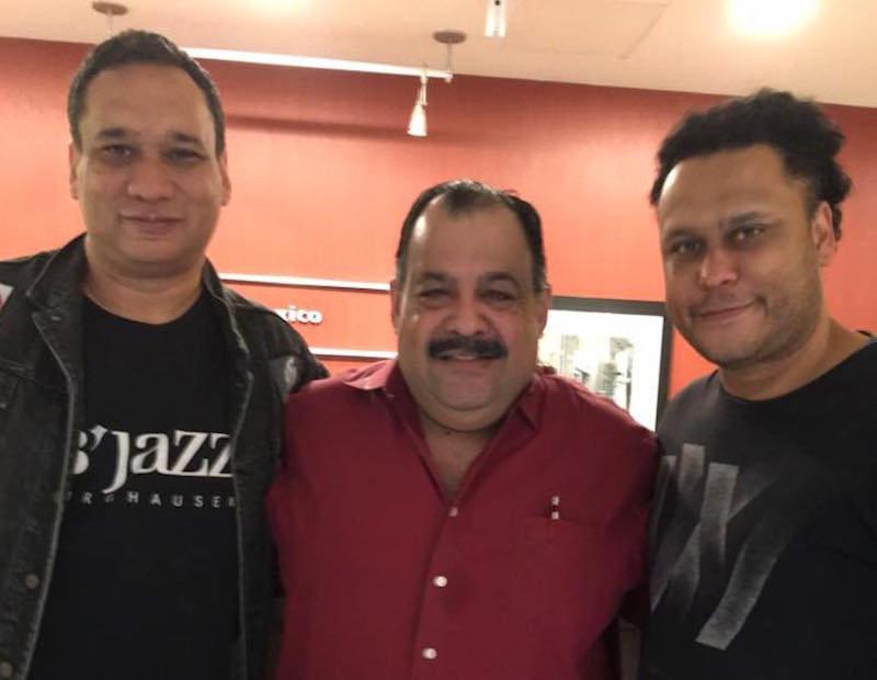 Canavati hosts Francisco and Emmanuel Laboriel on Jazz de Mexico on Sunday, July 24, 2016. Photo courtesy of Jazz de Mexico