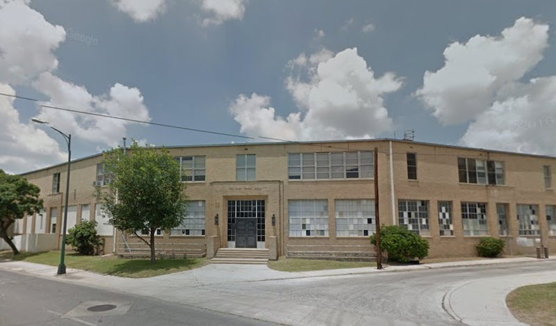 CAST Tech High School will occupy two unused buildings on Fox Tech High School's campus downtown. Image courtesy of Google Maps.
