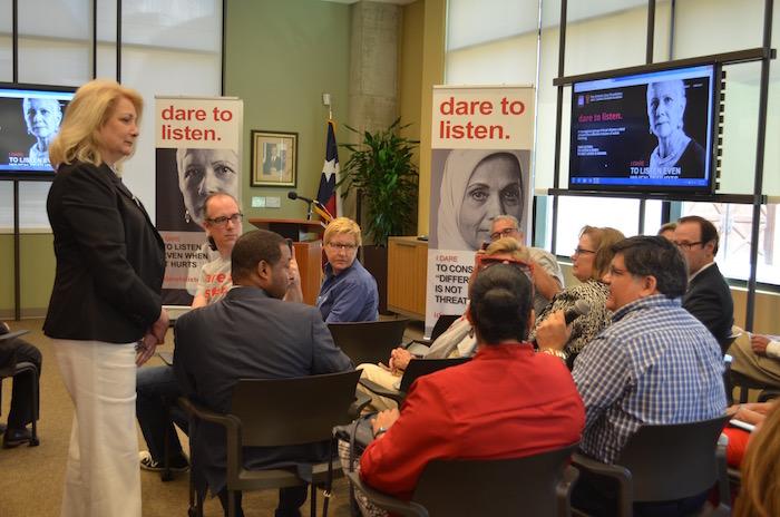 Dare to listen campaign launch, san antonio area foundation, texas public radio, july 13, 2916