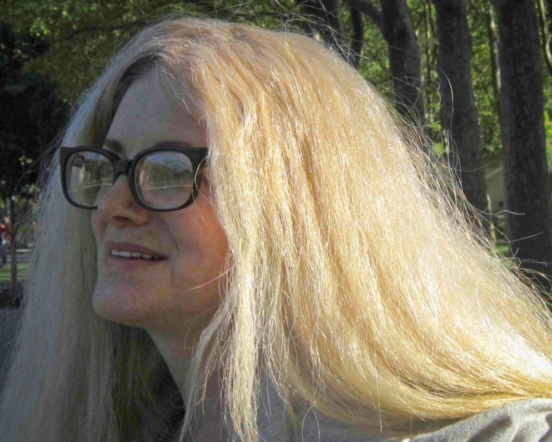 Author Janet Kaplan. Photo by Silvia Sanza.